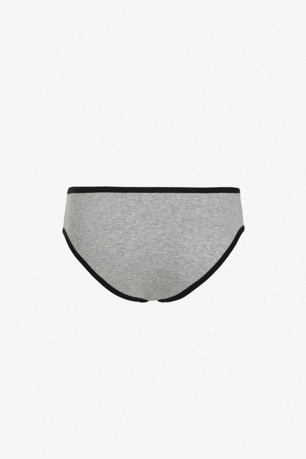 Slip in fibra d'argento Estia
