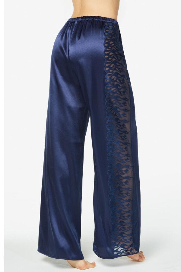 Pantalone in seta ricamato Royal
