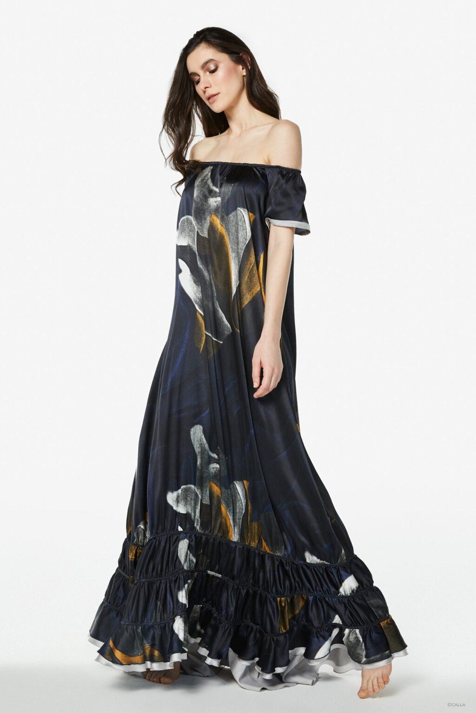 Silk satin dress Melanie