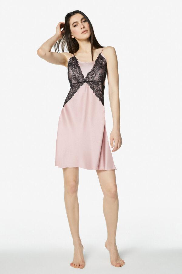 Satin and lace petticoat Alba